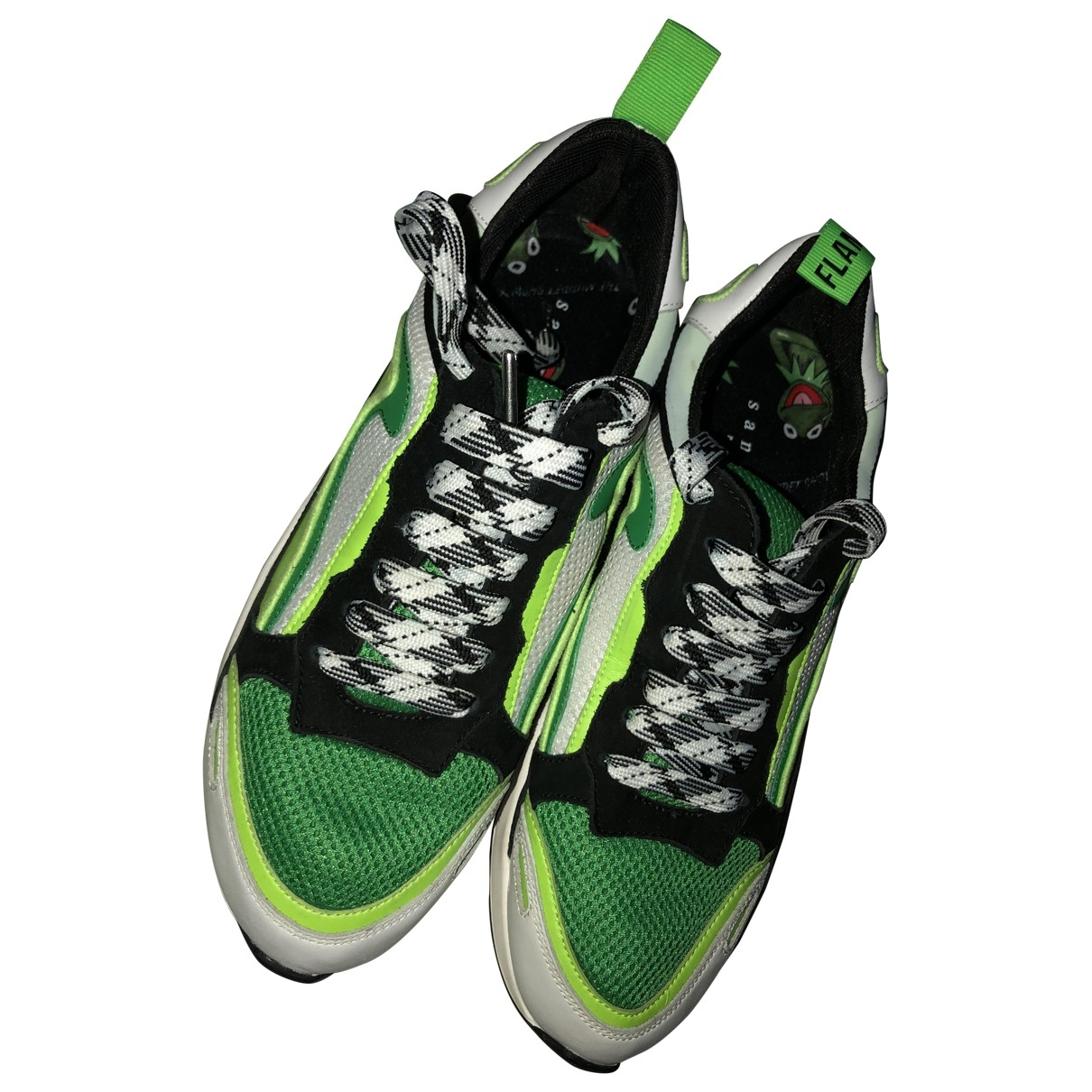 Sandro \N Sneakers in  Gruen Kautschuk