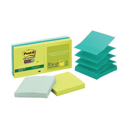 Post-it® Feuillets super collants recyclés, 3