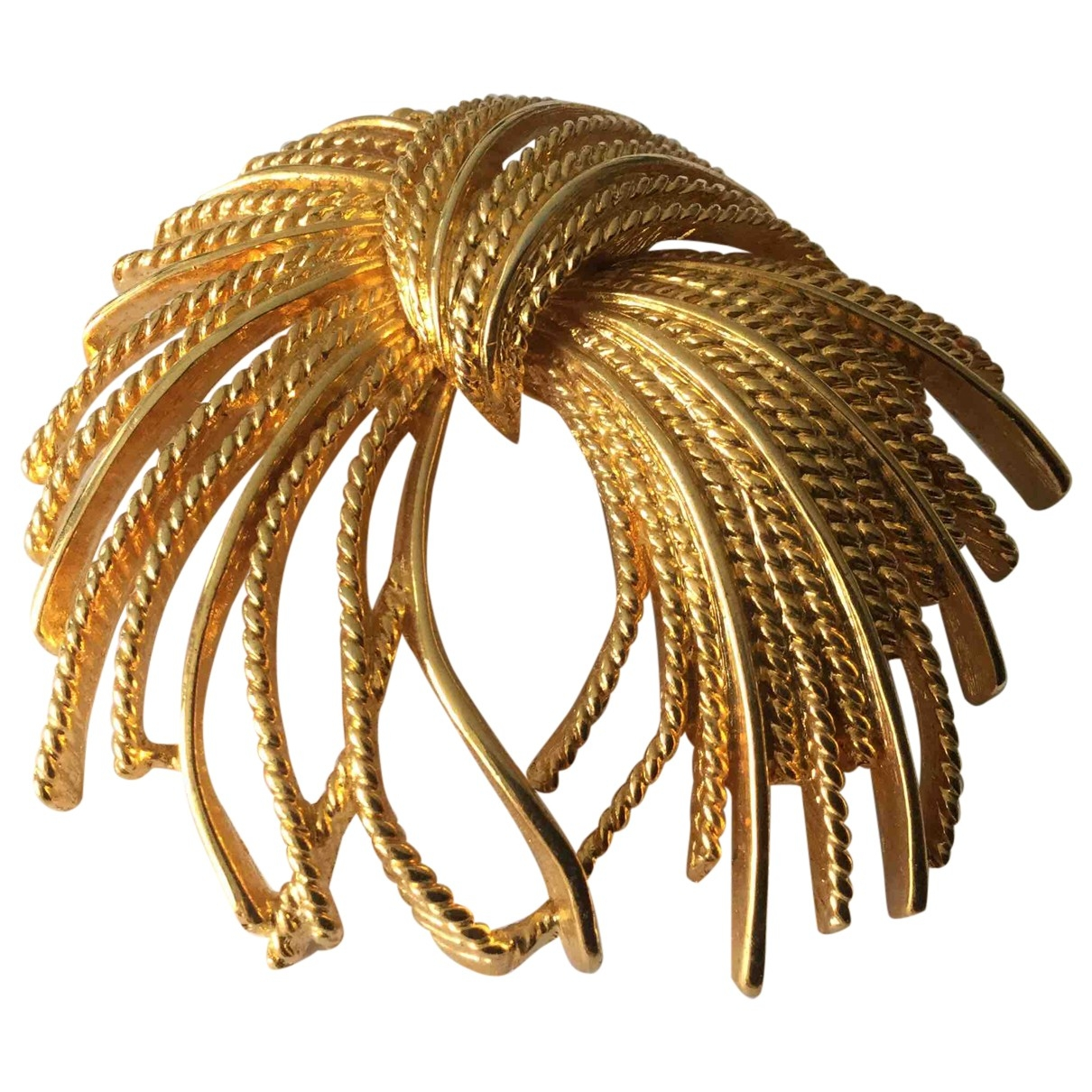 Non Signé / Unsigned \N Gold Metal Pins & brooches for Women \N