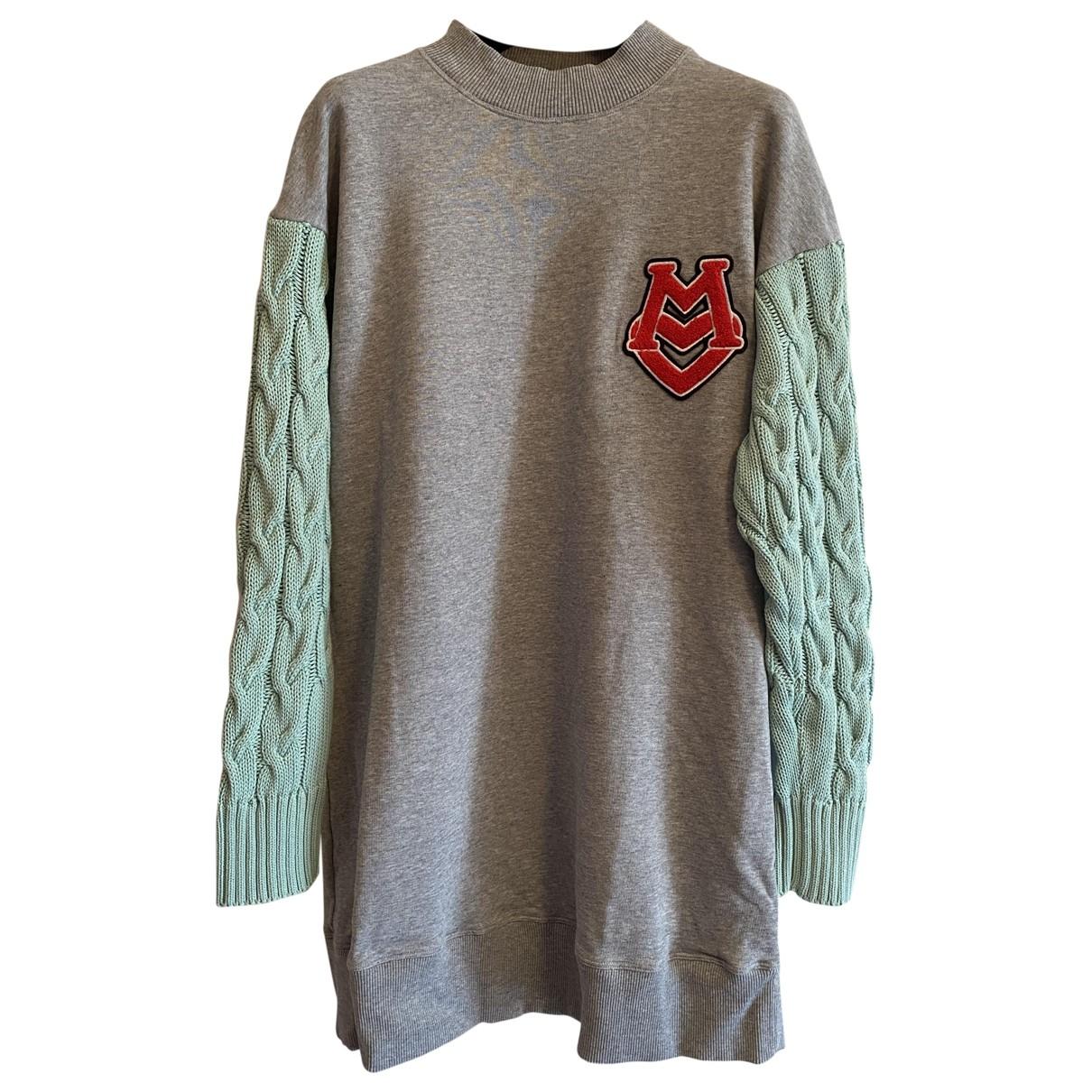 Moschino Love - Robe   pour femme en coton - gris