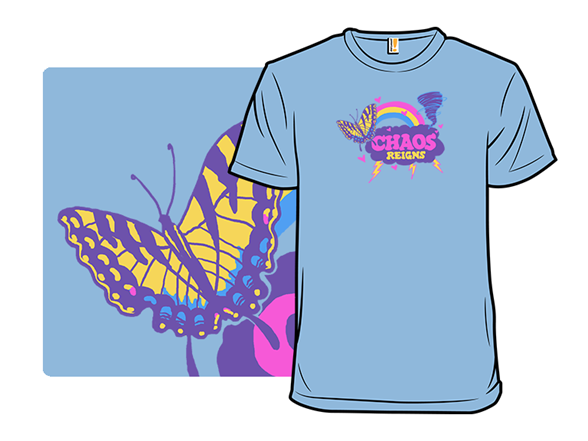 Butterfly Wings & Chaos T Shirt