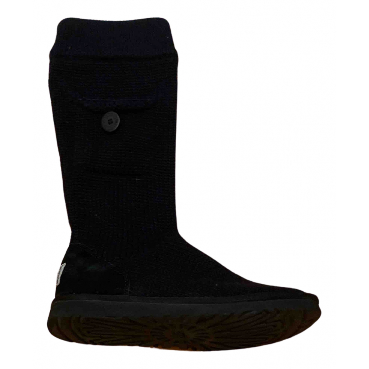 Ugg N Black Cloth Boots for Women 40 EU