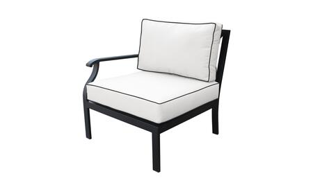 KI062b-RAS-SNOW Madison Ave. Right Arm Chair with 2 Sets of Snow