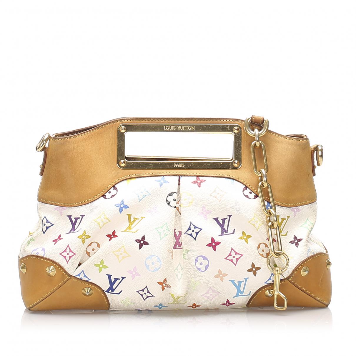 Louis Vuitton Judy White Cloth handbag for Women \N