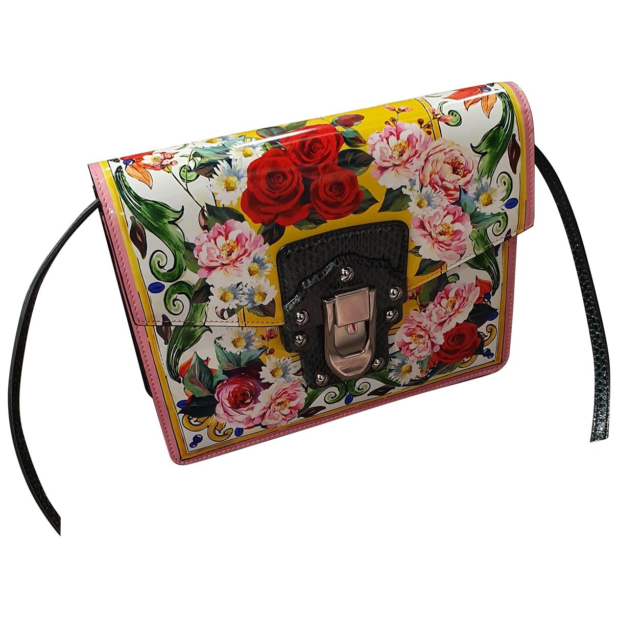 Dolce & Gabbana - Sac a main Lucia pour femme en cuir - multicolore