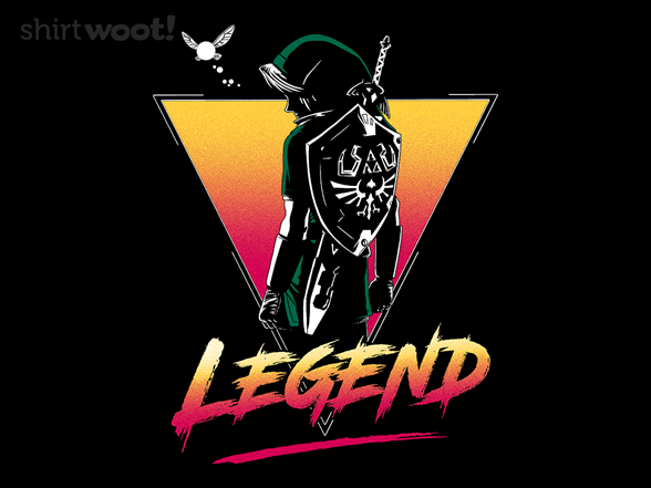 Legendary Hero T Shirt