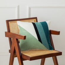 Geometric Pattern Knitted Cushion Cover Without Filler
