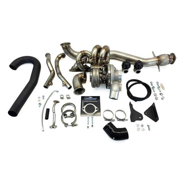 ETS 03-06 Mitsubishi Evolution 8|9 Standard Turbo Kit Speed Density Intake PT5862 Gen 2 BB