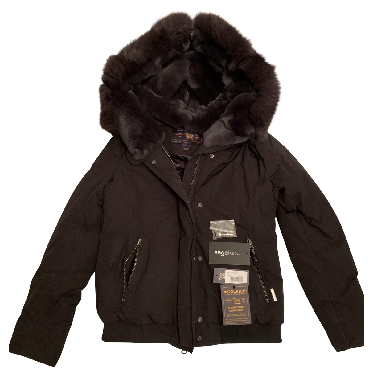Woolrich \N Black coat for Women M International