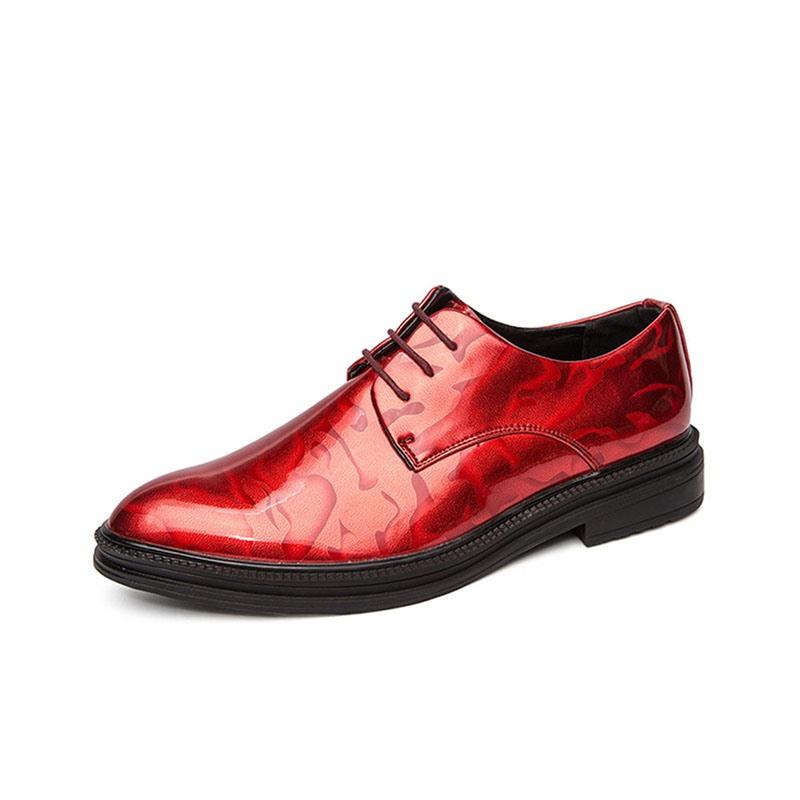 Ericdress Plain Low-Cut Upper PU Men's Dress Shoes
