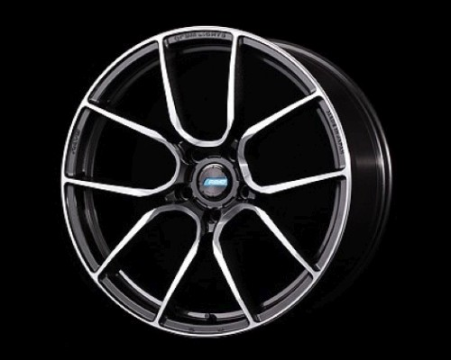 GramLights WGAA238EHF 57ANA Wheel 19x8.5 5x114.3 38mm Super Dark Gunmetal/DC/Machining
