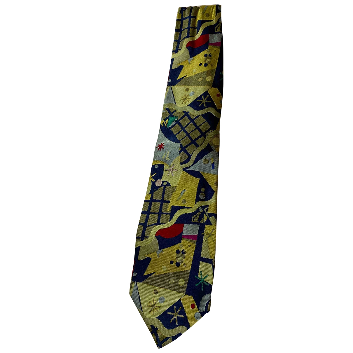 Gianni Versace - Cravates   pour homme en soie - multicolore