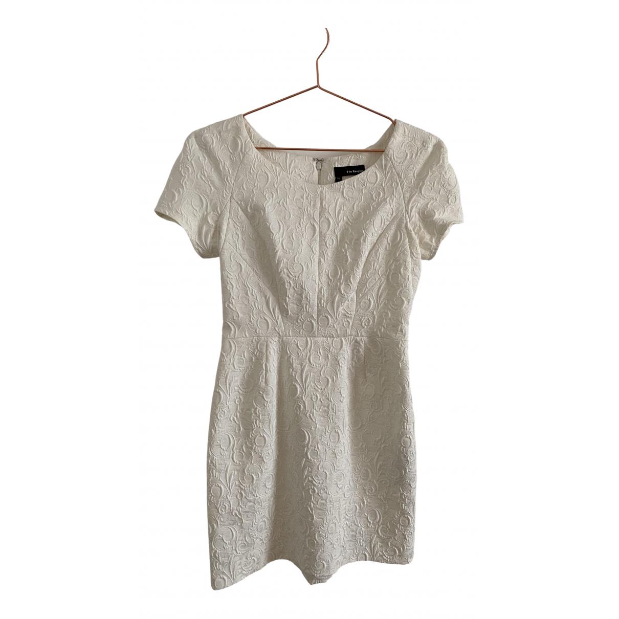 The Kooples \N Kleid in  Weiss Polyester