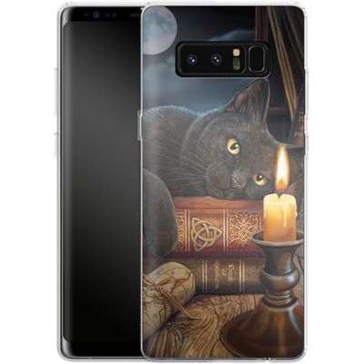 Samsung Galaxy Note 8 Silikon Handyhuelle - Witching Hour von Lisa Parker