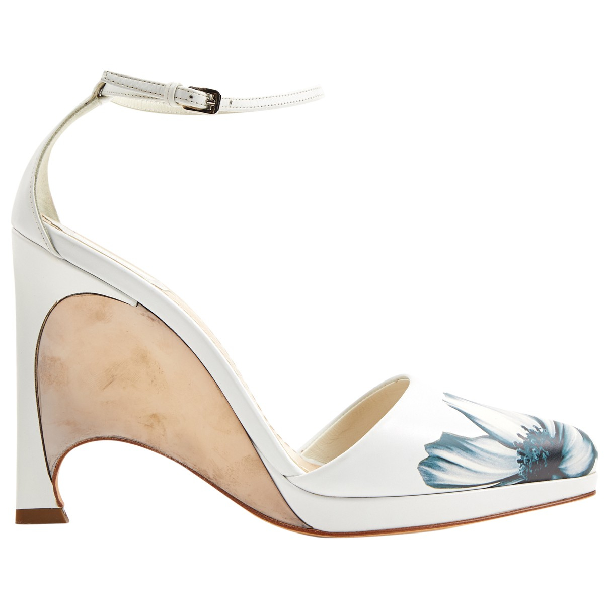 Dior \N White Leather Sandals for Women 39 EU