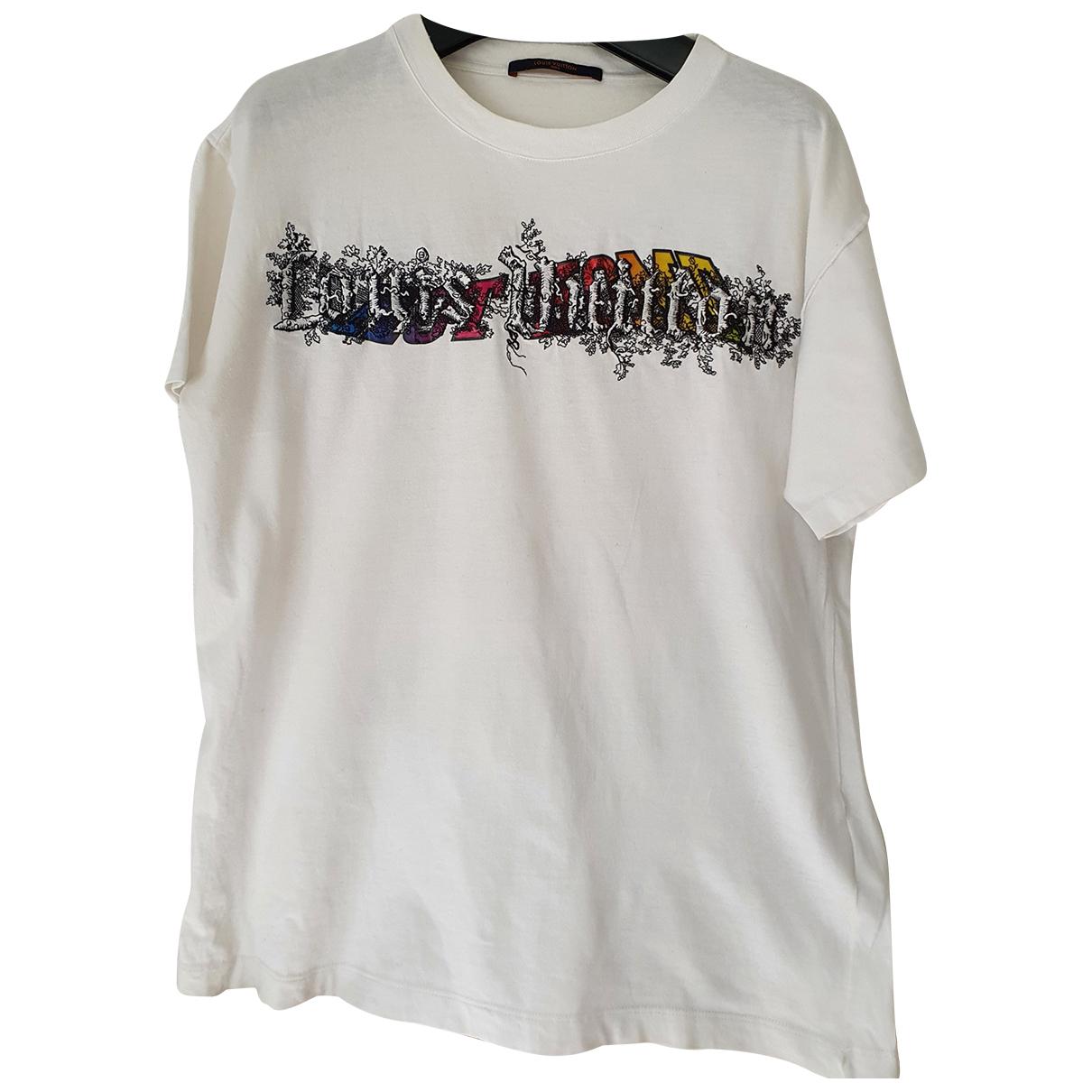 Louis Vuitton - Tee shirts   pour homme en coton - blanc