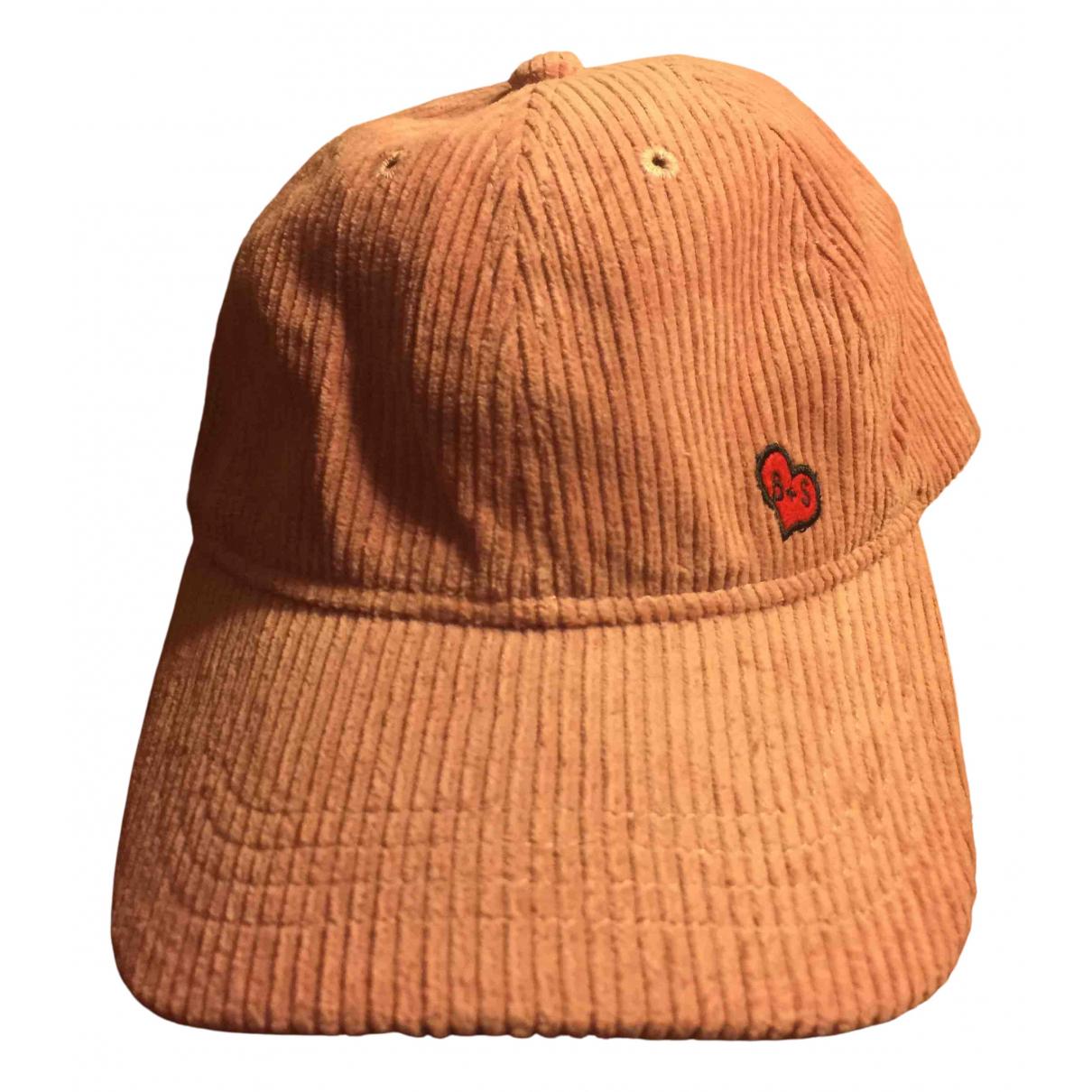 Ba&sh - Chapeau   pour femme en coton - rose