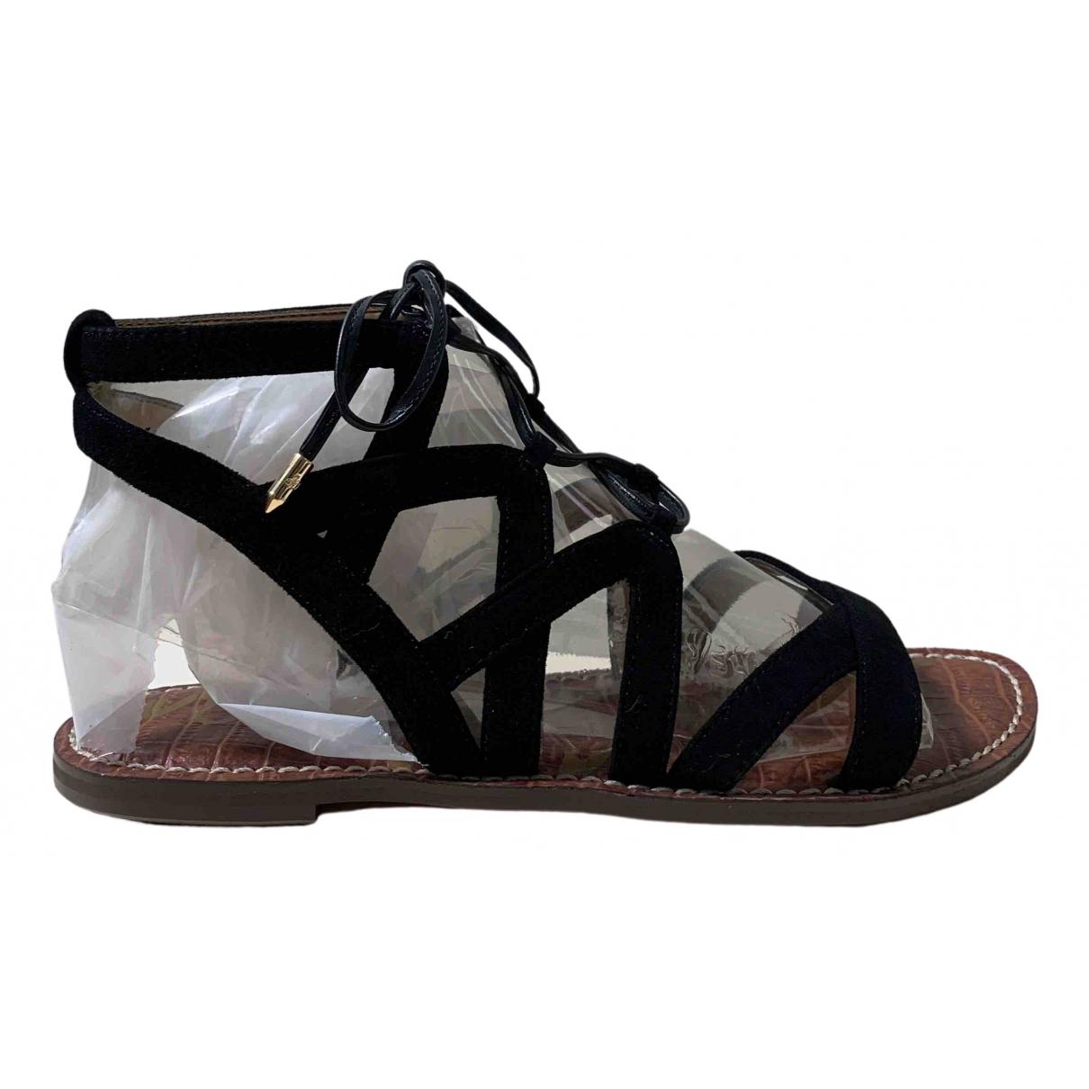 Sam Edelman \N Black Suede Sandals for Women 37.5 EU