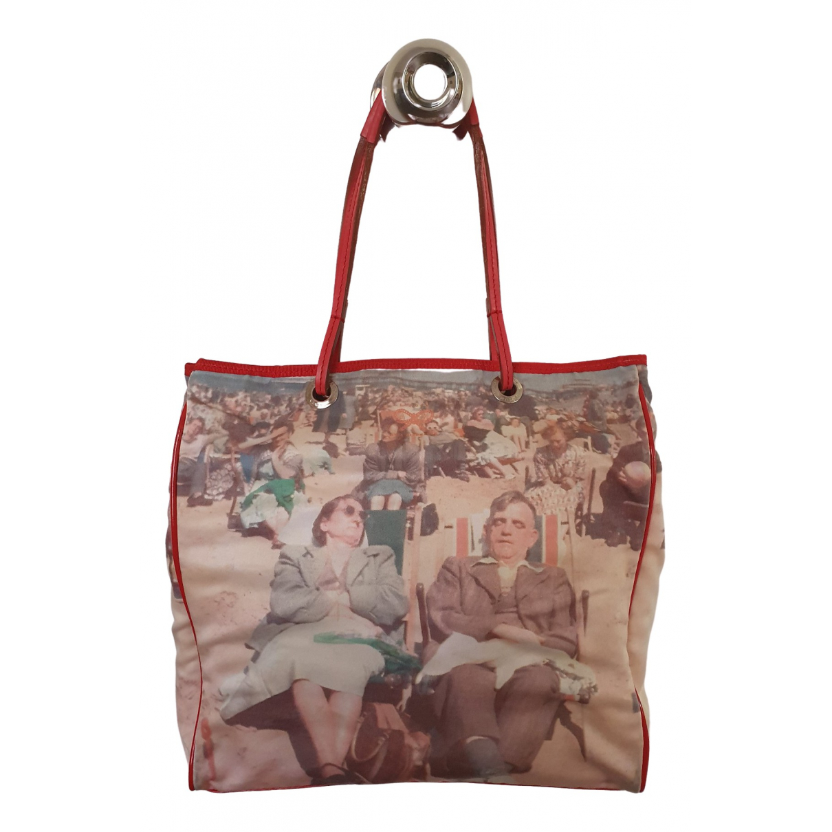 Anya Hindmarch \N Handtasche in  Bunt Leinen