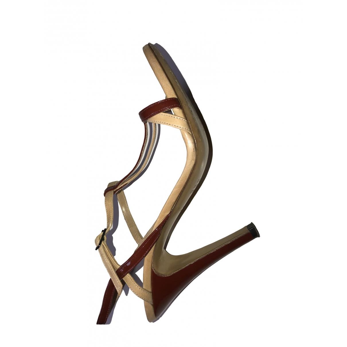 Sandalias de Cuero Maison Martin Margiela