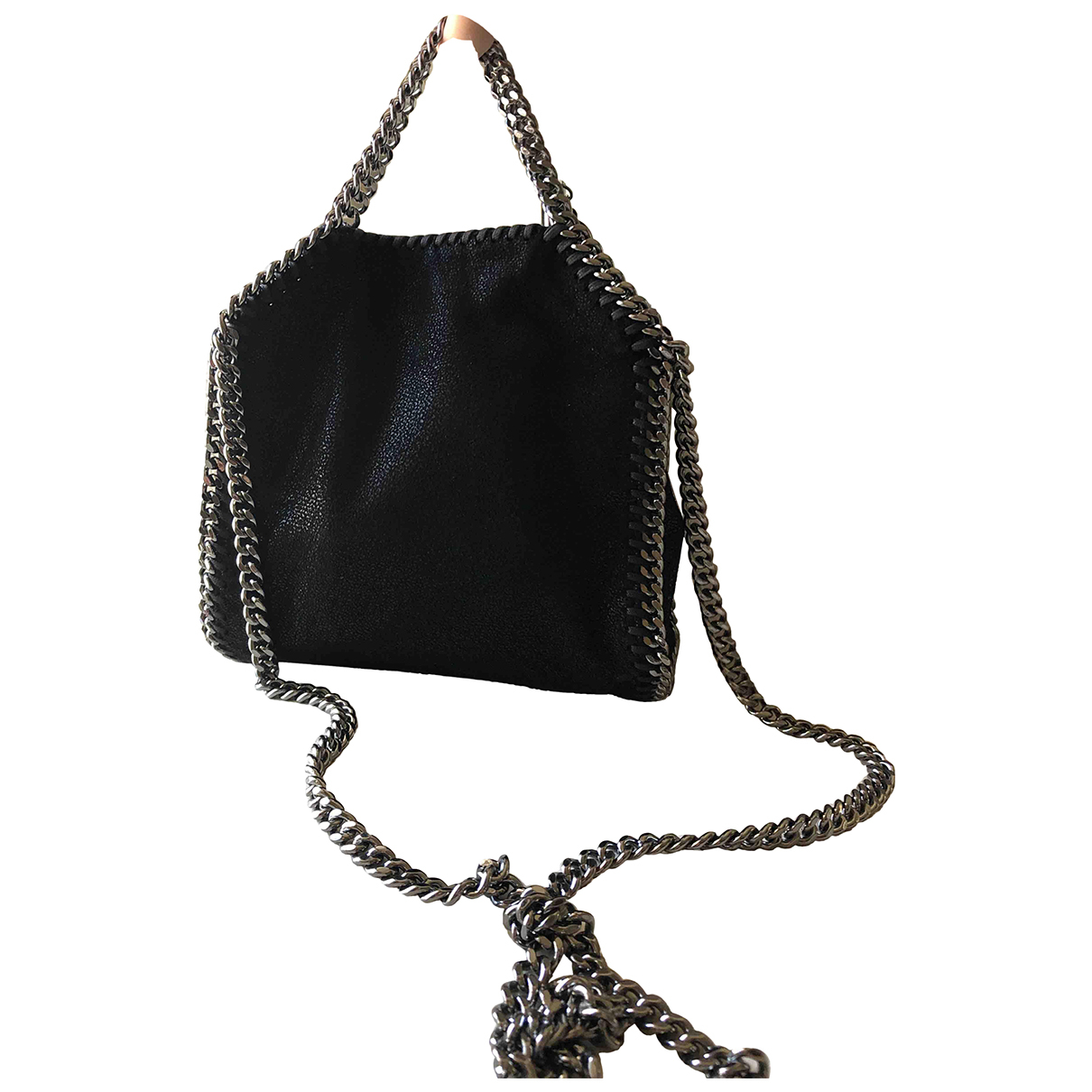 Stella Mccartney \N Black Leather handbag for Women \N