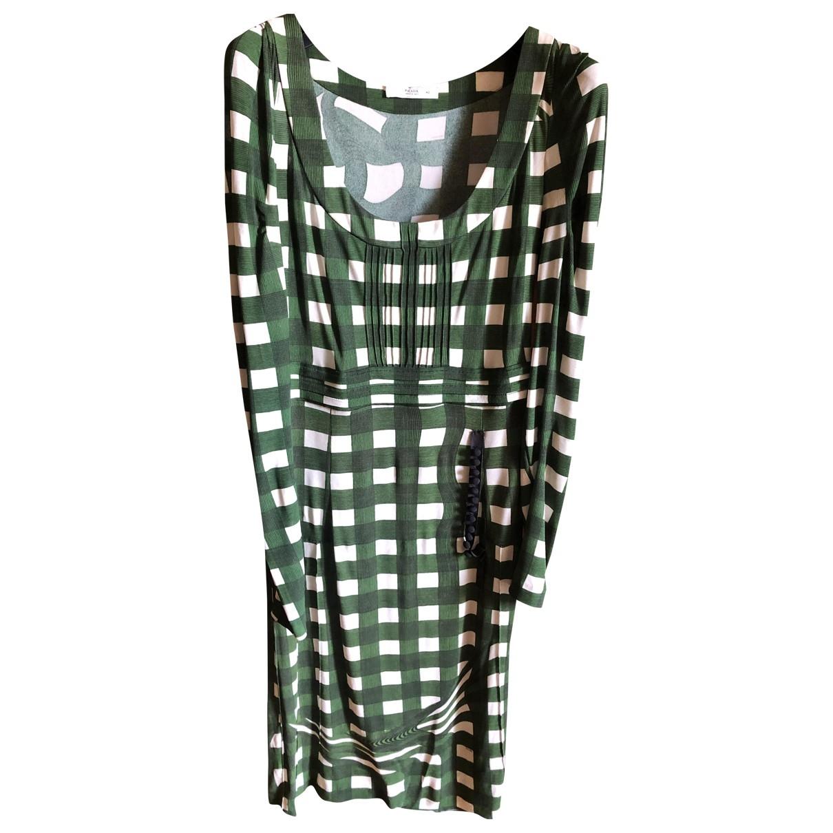 Prada - Robe   pour femme - vert