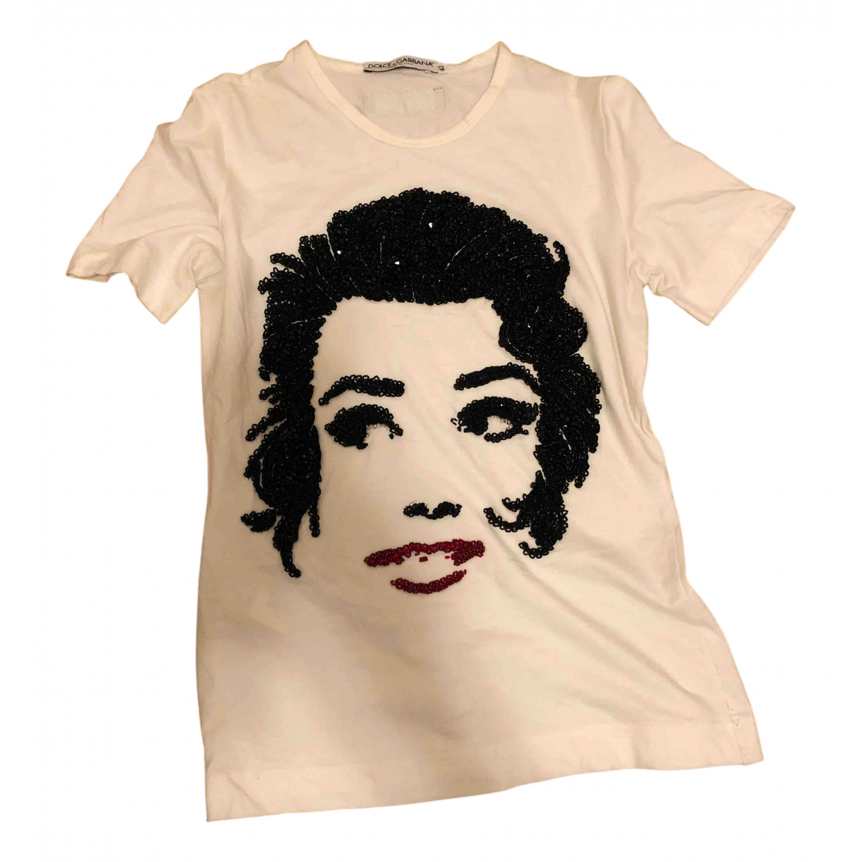 Dolce & Gabbana \N White Cotton  top for Women 40 IT