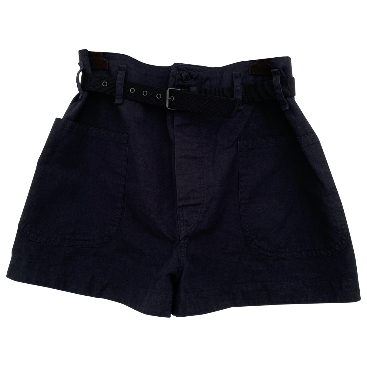 Isabel Marant Etoile \N Shorts in  Blau Baumwolle