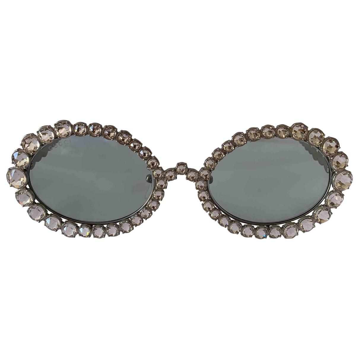 Gucci \N Sonnenbrillen in  Silber Metall