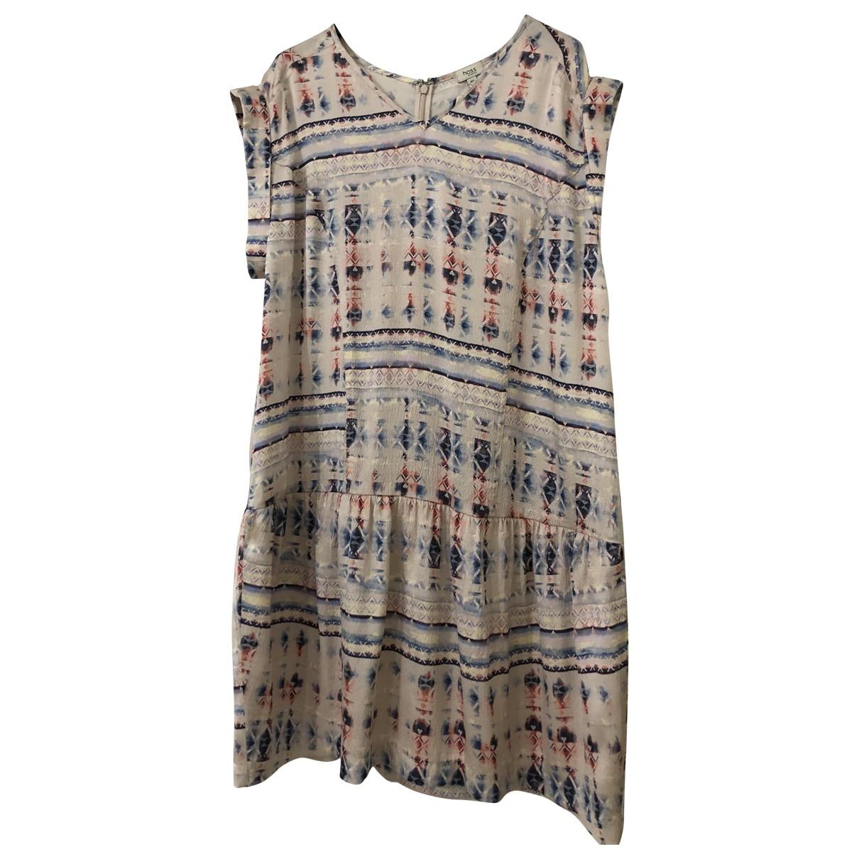 Hoss Intropia - Robe   pour femme en soie - multicolore