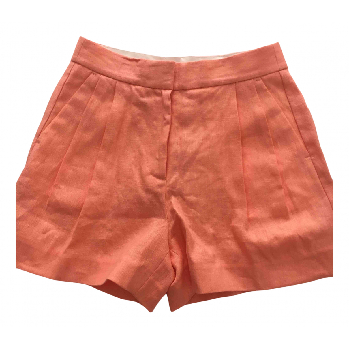 Michael Kors \N Shorts in  Orange Leinen