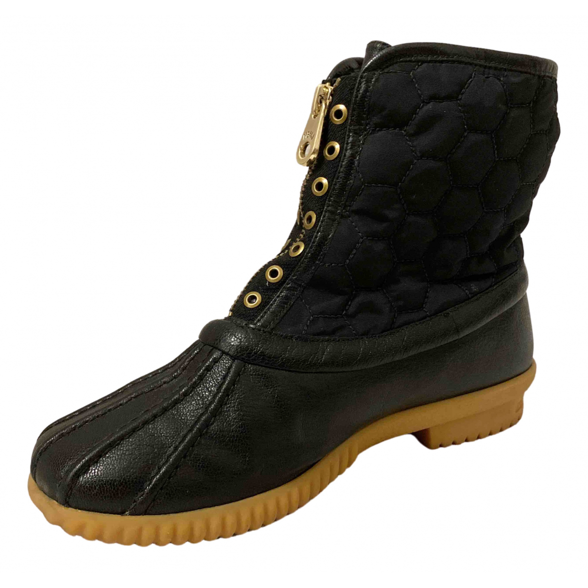 Marc By Marc Jacobs \N Stiefeletten in  Schwarz Leder