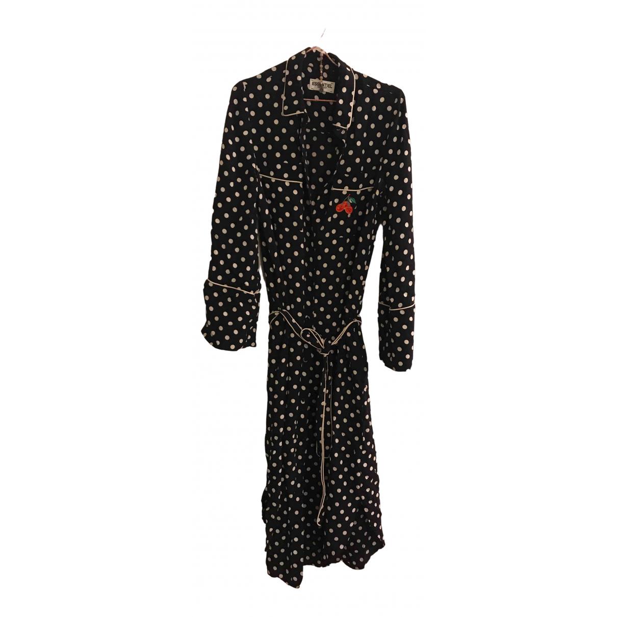 Essentiel Antwerp - Robe   pour femme - noir