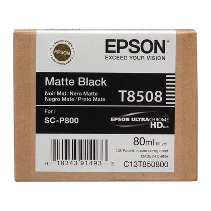 Epson T850 T850800 cartouche d'encre originale UltraChrome noir mat
