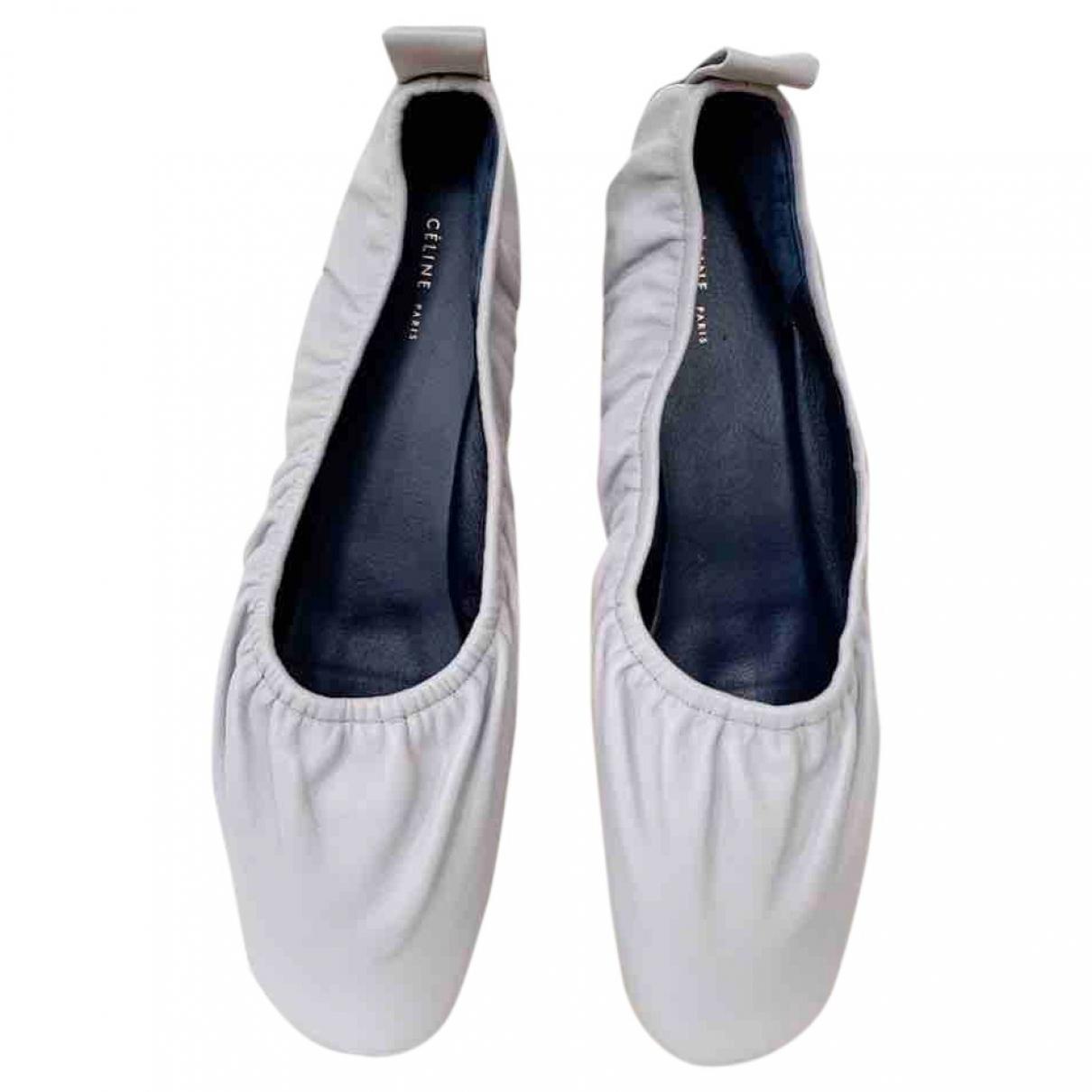 Bailarinas Soft Ballerina de Cuero Celine