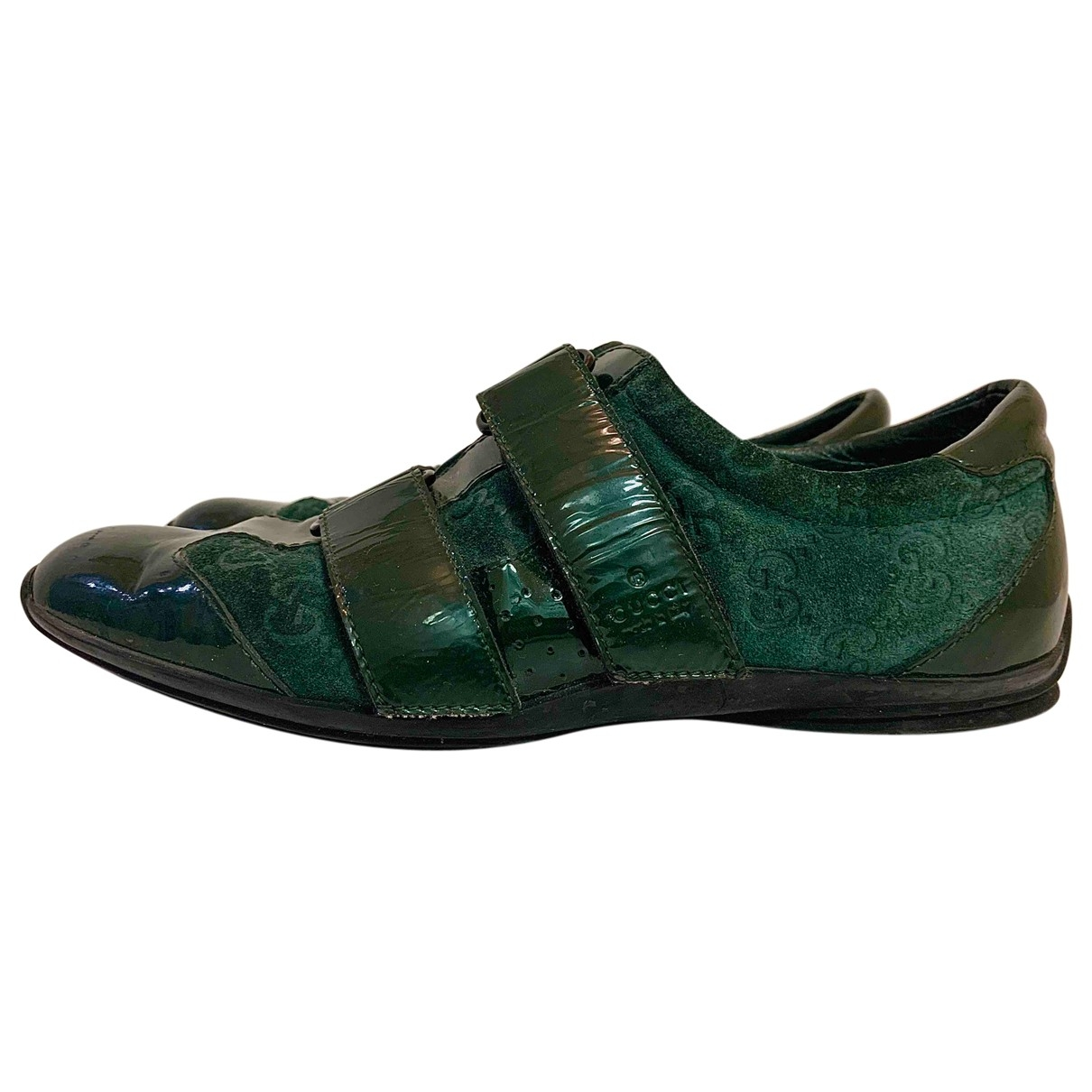 Gucci \N Green Patent leather Trainers for Women 35 EU
