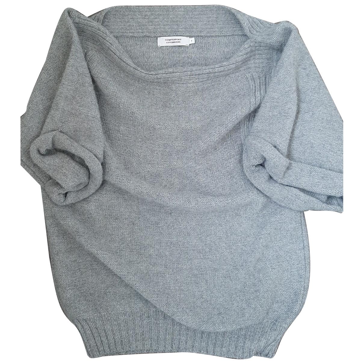 Comptoir Des Cotonniers - Pull   pour femme en laine - gris