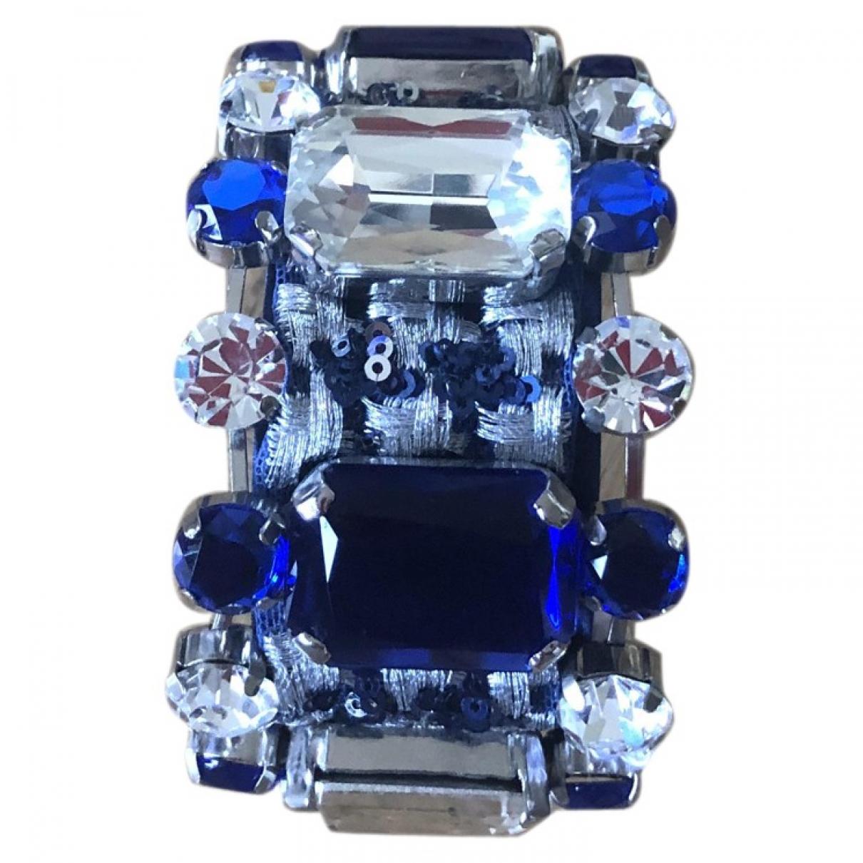 La Perla - Bracelet   pour femme en toile - bleu