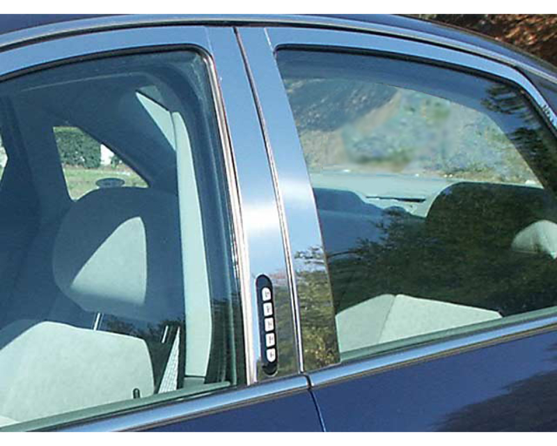 QAA Stainless Steel Pillar Trim 4Pc 2008-2009 Ford Taurus