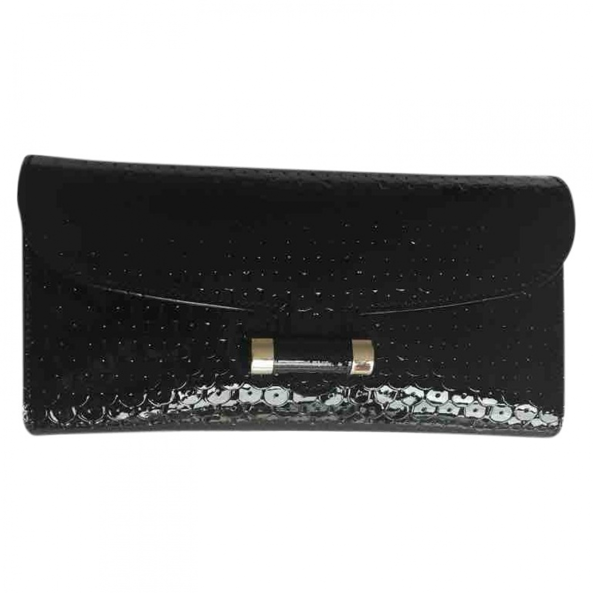 Yves Saint Laurent \N Black Patent leather Clutch bag for Women \N