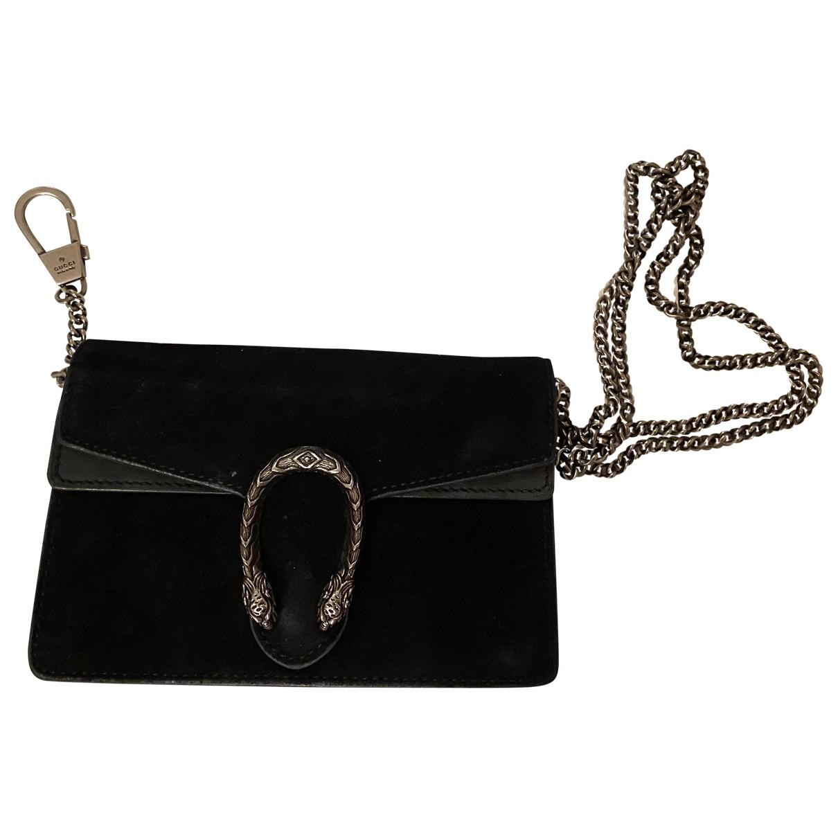 Gucci - Sac a main Dionysus pour femme en velours - noir