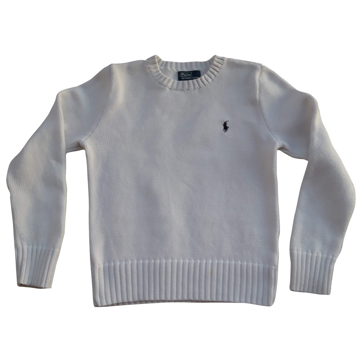 Polo Ralph Lauren \N White Cotton Knitwear for Kids 14 years - S FR