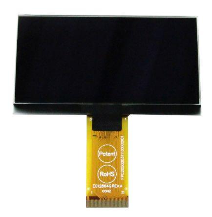 Raystar 2.7in White Passive matrix OLED Display 128 x 64pixels TAB SPI Interface