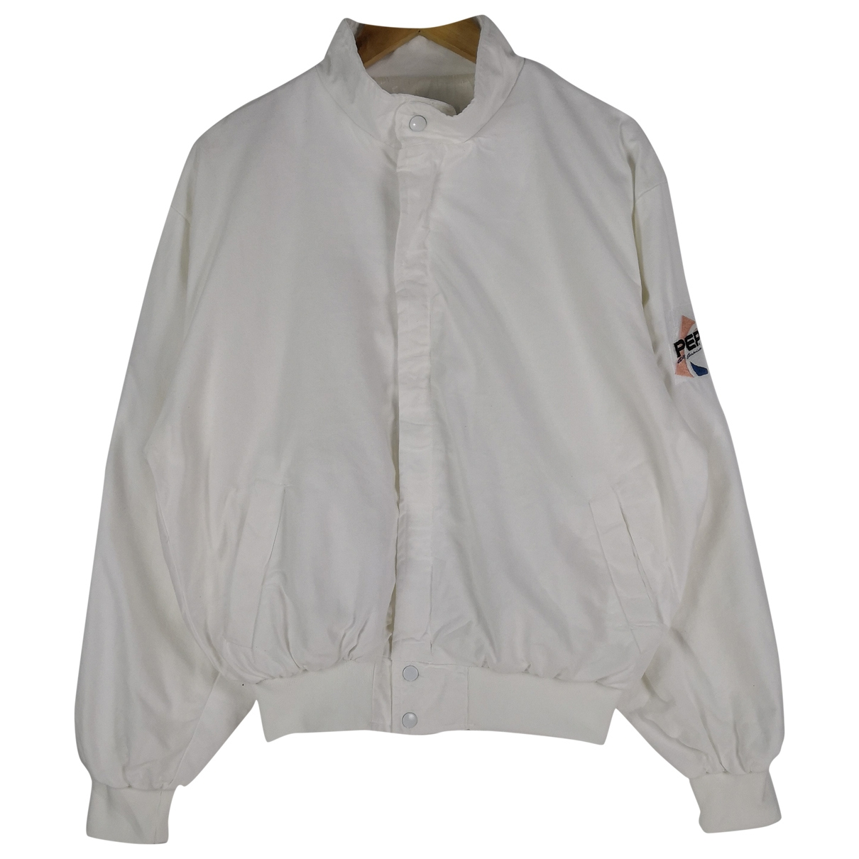 Non Signé / Unsigned \N White Cotton jacket  for Men M International