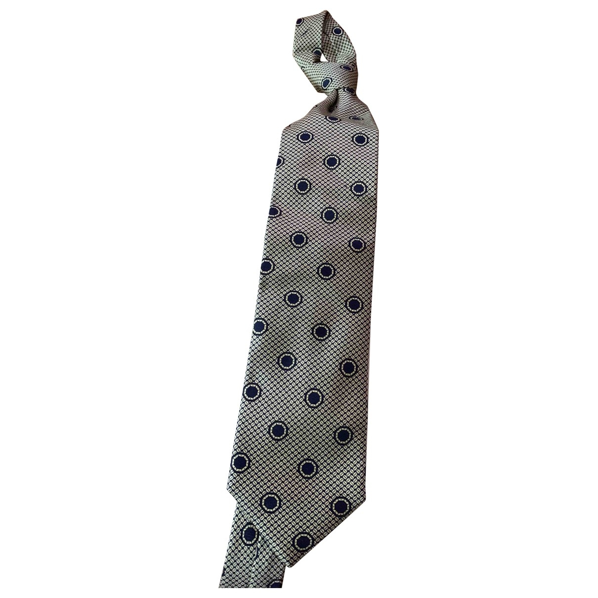 Etro \N Beige Silk Ties for Men \N