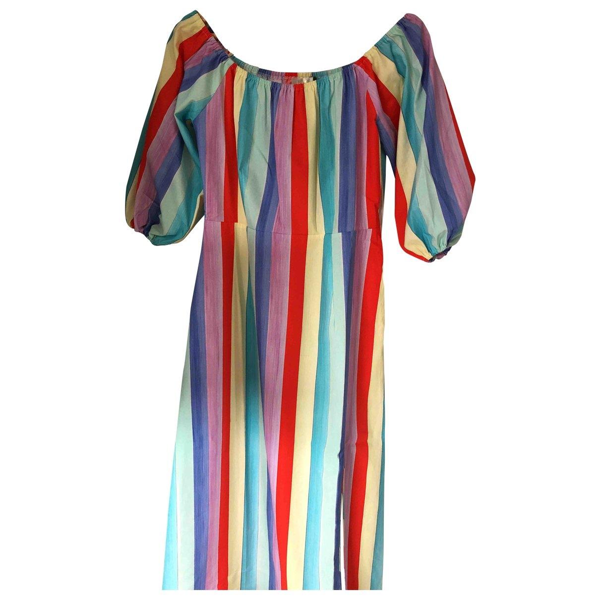 Rixo \N Multicolour Cotton dress for Women S International