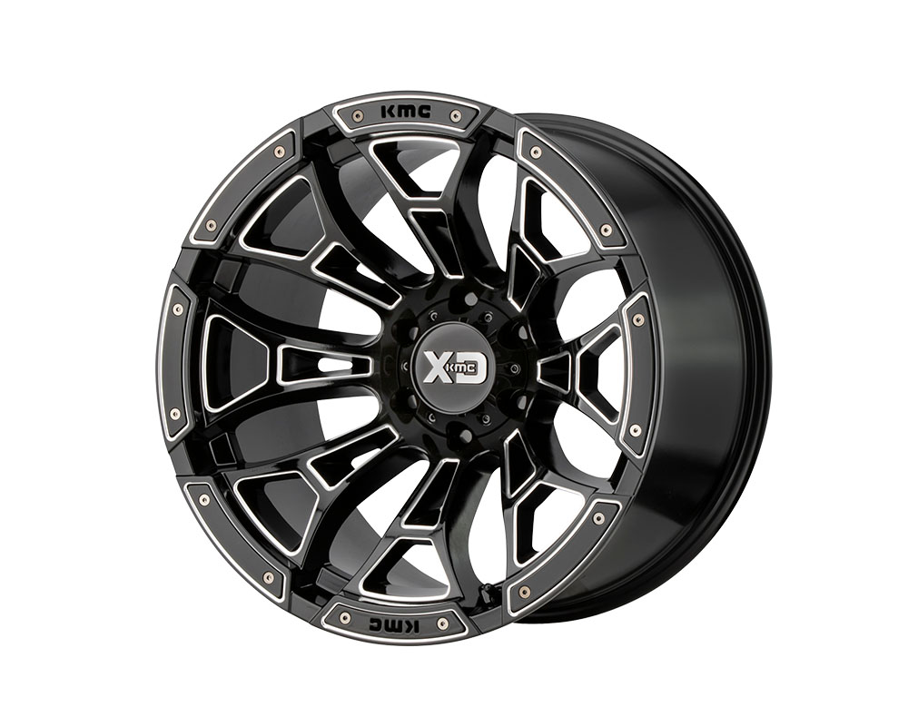 XD Series XD84189077300 XD841 Boneyard Wheel 18x9 6x6x120 +0mm Gloss Black Milled