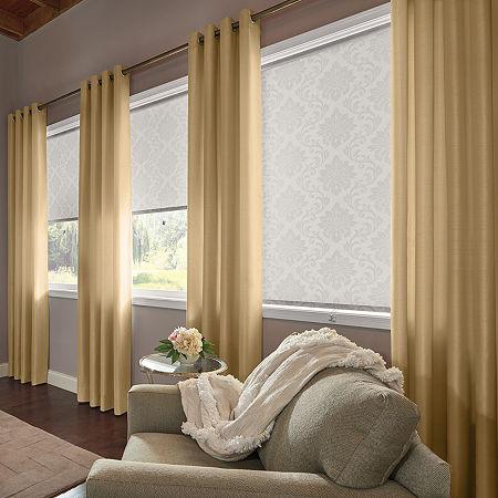 Bali Valencia Custom Light-Filtering Grommet-Top Single Curtain Panel, One Size , Brown