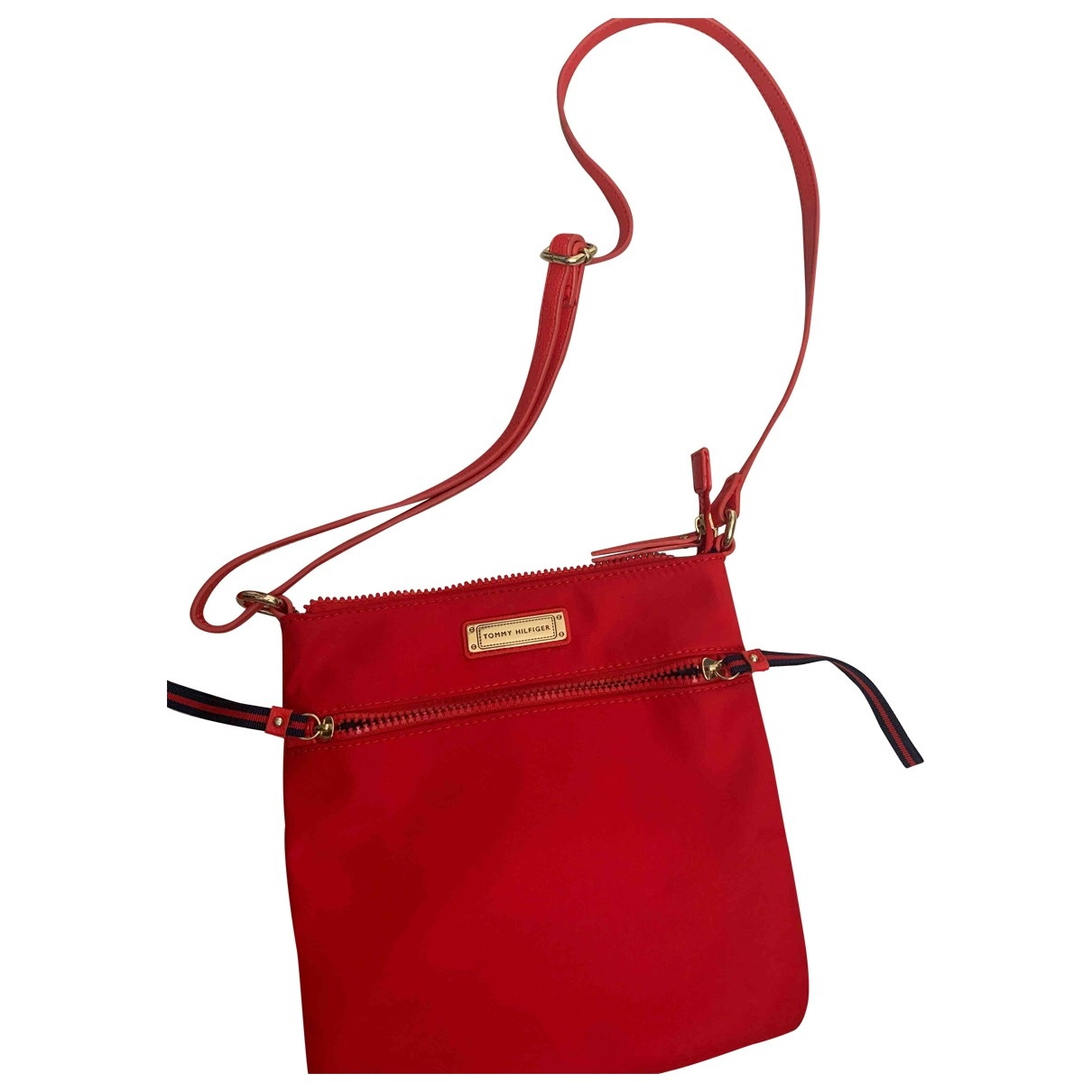 Tommy Hilfiger \N Red handbag for Women \N