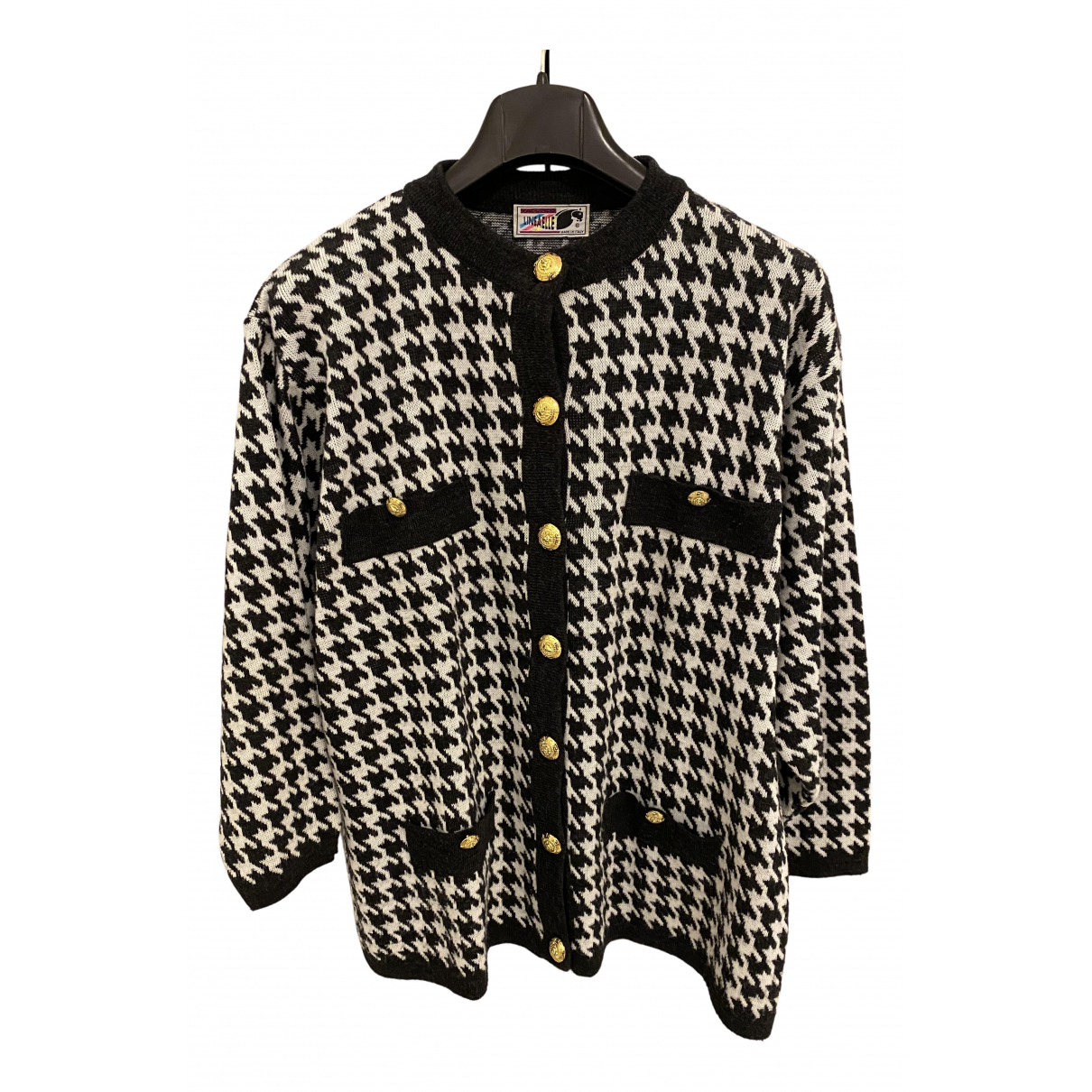 Non Signe / Unsigned Oversize Pullover in  Bunt Polyester